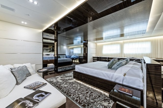 Super yacht Entourage - Cabin