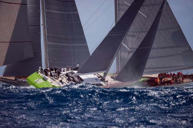 Superyacht Challenge Antigua - Photo credit to Cory Silken