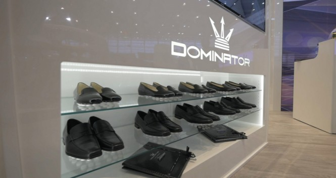 The Dominator usence® virtual reality at the 2015 Dusseldorf Boat Show