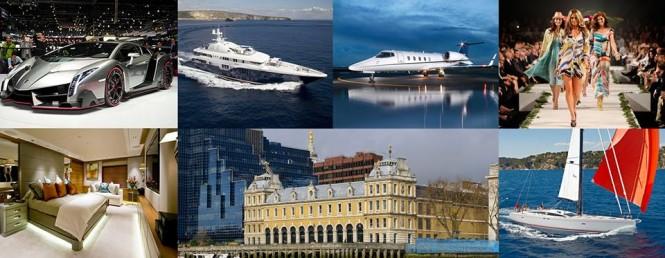 The London Yacht, Jet & Prestige Car Show, April 8 - 10, 2015
