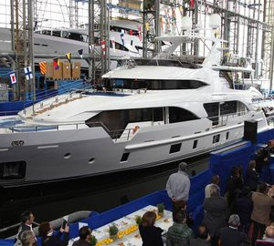 New Benetti Tradition Supreme 108' motor yacht INCONTATTO launched