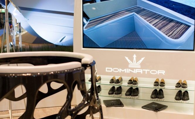 World Premiere of Dominator motor yacht ILUMEN brought to life by virtual reality