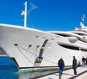 Photos of 120m superyacht MARYAH at Porto Montenegro