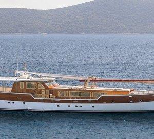 New 38m steel motor yacht TORNADO delivered by Agantur Shipyard