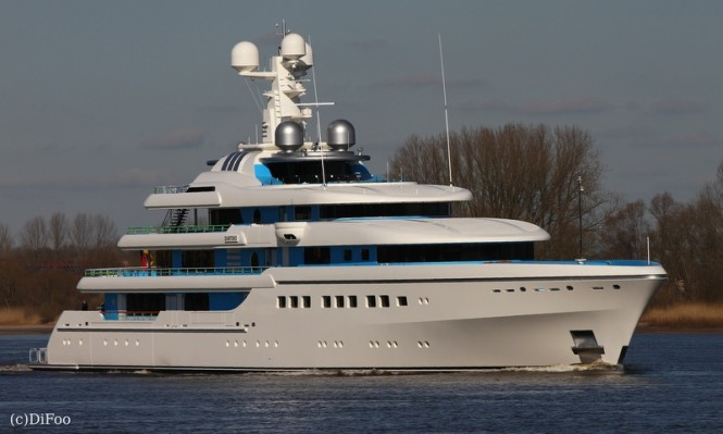 81m Abeking & Rasmussen superyacht DARTWO - Photo credit to DiFoo