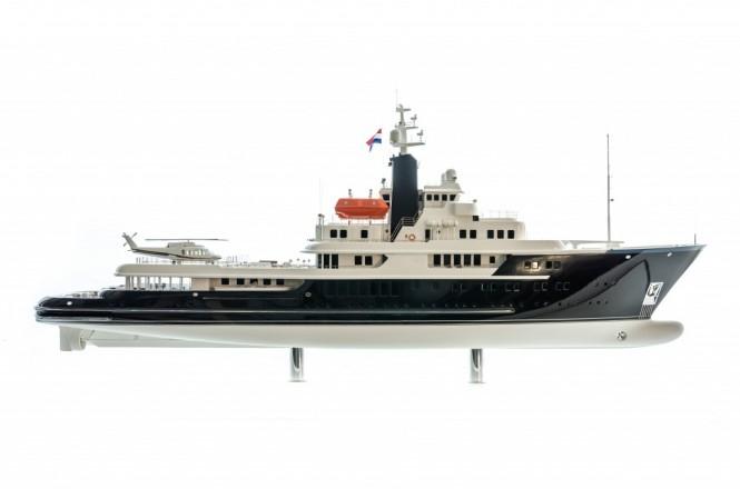 85m Explorer Superyacht Concept by Vripack - Image credit to Vripack