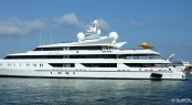 95m Oceanco mega yacht INDIAN EMPRESS - Photo by Piotr Rutkowski