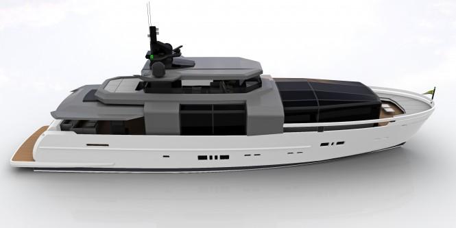 ARCADIA 100 Superyacht