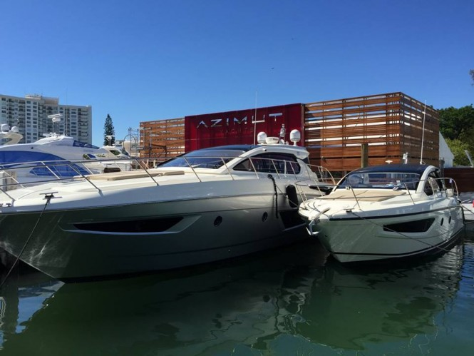 Azimut Yachts at the 2015 Miami Yacht & Brokerage Show