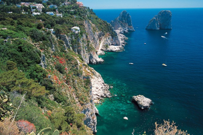 Capri - Image courtesy of Capri Tourist Office