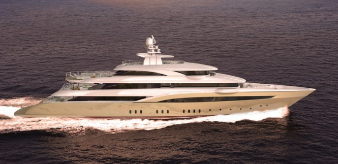 Giorgio and Stefano Vafiadis-designed 72m motor yacht O'PARI 3 by Golden Yachts