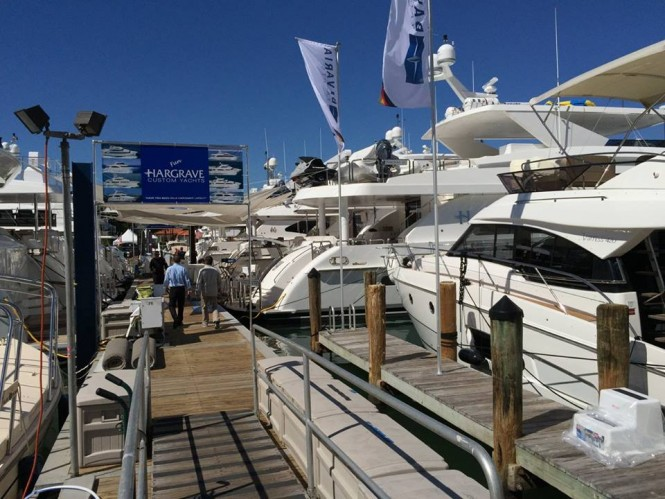 Hargrave Custom Yachts at the 2015 Miami Yacht & Brokerage Show