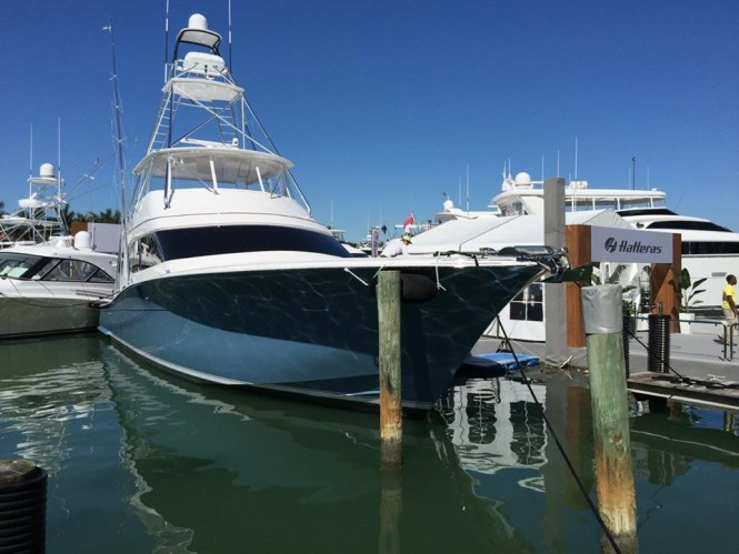 Hatteras Yachts at the 2015 Miami Yacht & Brokerage Show