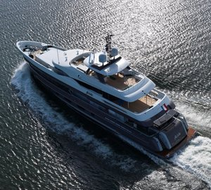 Motor yacht ALIVE – The first Superyacht equipped with Hull Vane by Van Oossanen Naval Architects