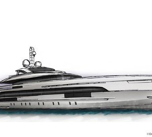 New 50m Fast Displacement motor yacht YN 17850 by Heesen Yachts