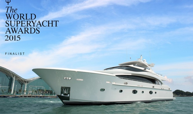 Horizon RP110 motor yacht ESTHER 7 nominated for World Superyacht Award 2015