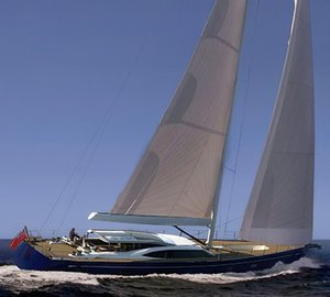Humphreys-designed sailing yacht Oyster 118 starts building