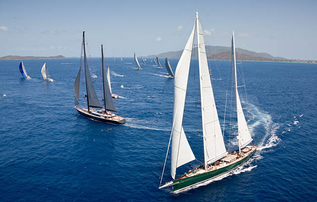 Idyllic sailing conditions will make for three days of exciting superyacht competition