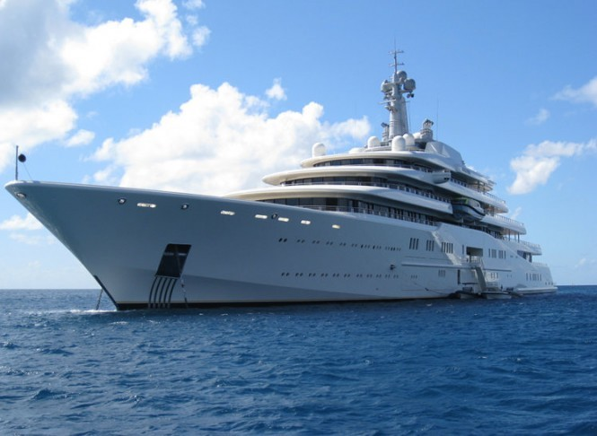 Luxury mega yacht Eclipse built by Blohm + Voss