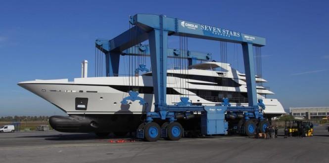Luxury super yacht Vica