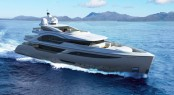 Luxury superyacht BLADE design by H2 Yacht Design