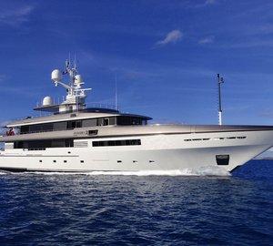Codecasa superyacht ALDABRA to be displayed at Singapore Yacht Show 2015
