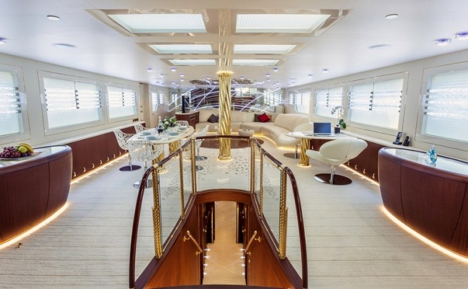 Luxury yacht Tornado - Interior