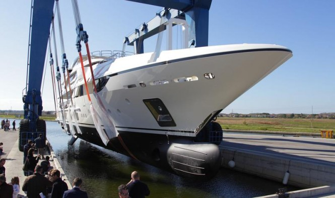 Luxury yacht Vica ready to hit the water