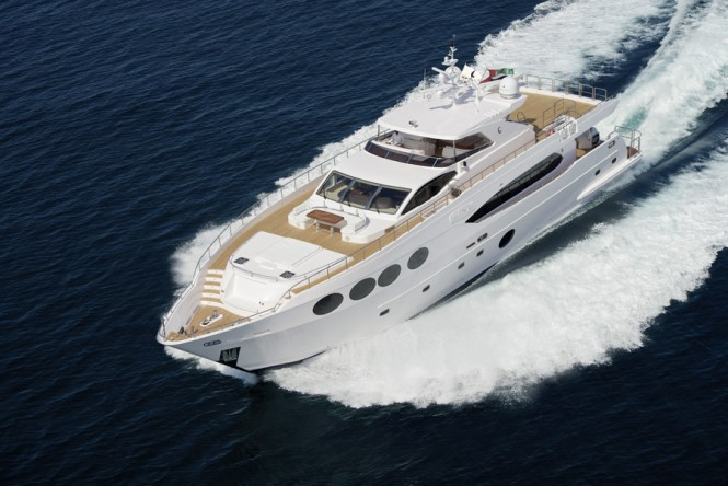 Majesty 105 Yacht to be displayed by Gulf Craft at the 2015 Indonesia Yacht Show