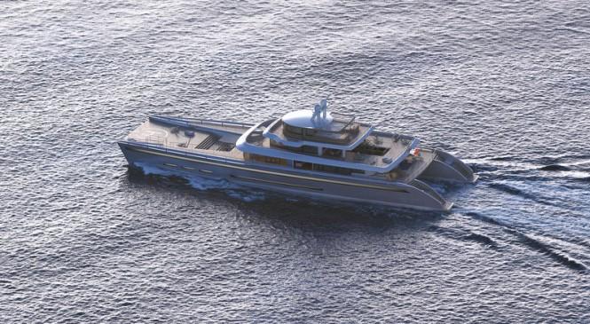 Manifesto superyacht concept underway