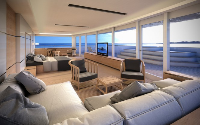 Manifesto yacht concept - Owners Cabin