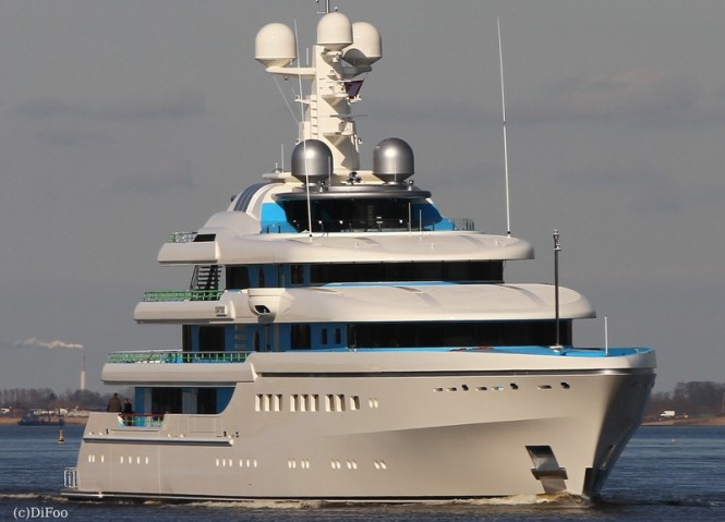Mega yacht DARTWO - Photo by DiFoo
