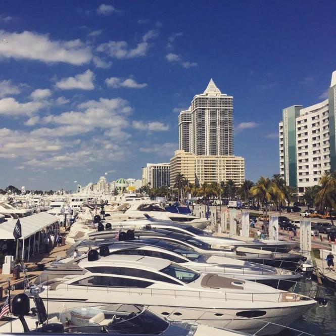 Miami Yacht & Brokerage Show 2015