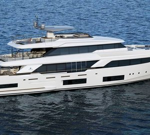 New 37m motor yacht NAVETTA 37 - The largest Navetta ever introduced by Custom Line