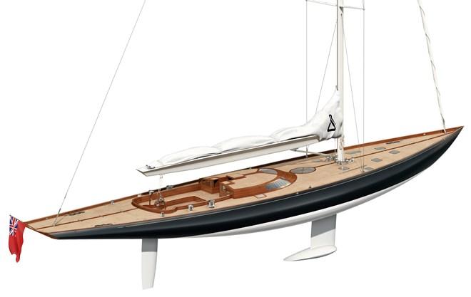 Парусная яхта из дерева чертежи
