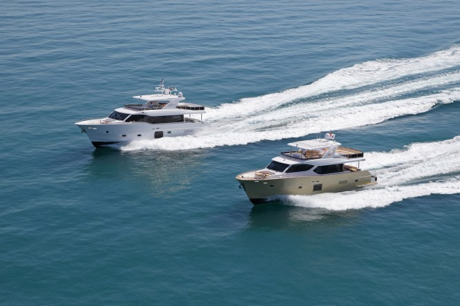 Nomad 65 and Nomad 75 Yachts