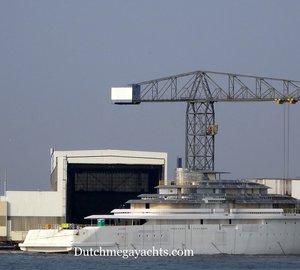 Photos: Launch of 110m Oceanco motor yacht Project JUBILEE (Y714)