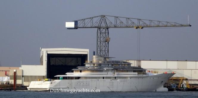 Oceanco Y714 mega yacht Project Jubilee - Photo by Dutchmegayachts