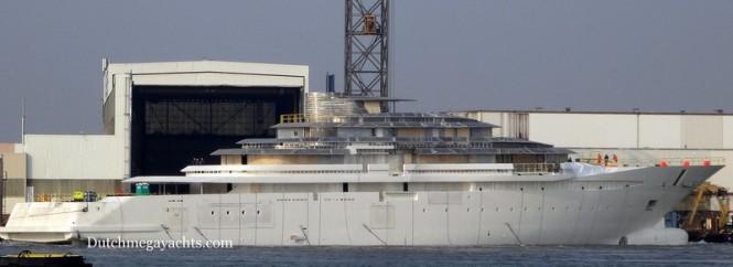 Oceanco Y714 superyacht Jubilee - Photo by Dutchmegayachts