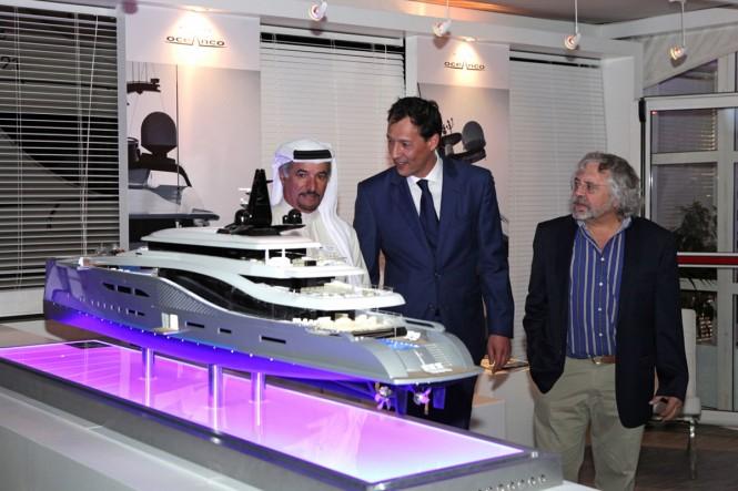 Oceanco mega yacht Stiletto