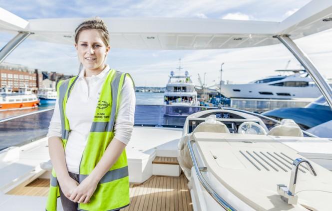 Olivia Richards-Smith - Apprentice Marine Engineer at Sunseeker