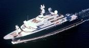 Paul G. Allen's 126m mega yacht Octopus - Photo Credit Lurssen Yachts