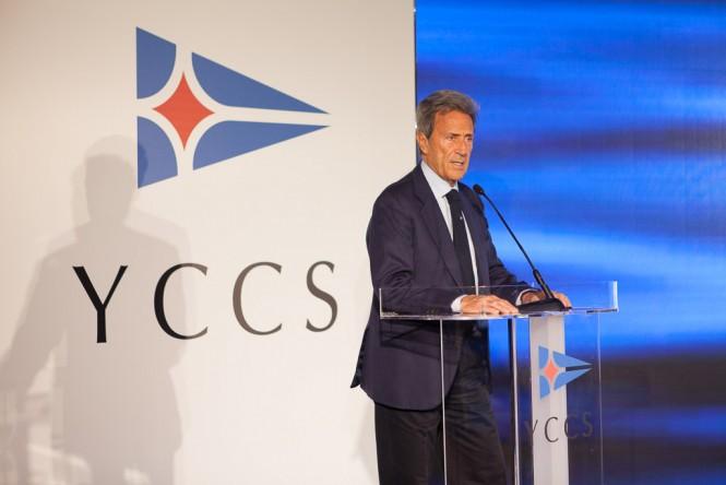 Riccardo Bonadeo, YCCS Commodore - YCCS Press Conference