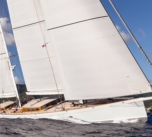 Video preview of 52m Royal Huisman superyacht ELFJE and her St. Barths Bucket 2015 Debut