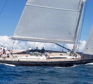 A great success of SW 100 RS sailing yacht CAPE ARROW at St Barths Bucket Regatta 2015