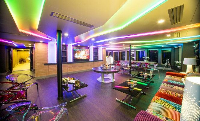 Saluzi superyacht - Main Deck - Saloon
