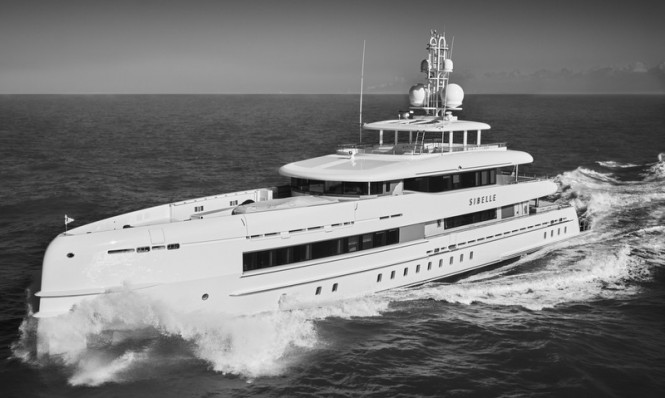 Sibelle Yacht - Photo by Richard Visions and Heesen Yachts