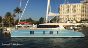 Sunreef 74 catamaran WildBerry in the beautiful Florida yacht holiday location - Fort Lauderdale