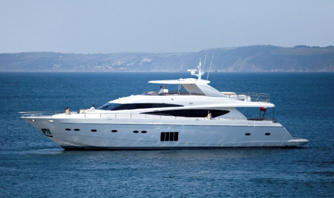 Super yacht Princess 98 by Princess Yachts