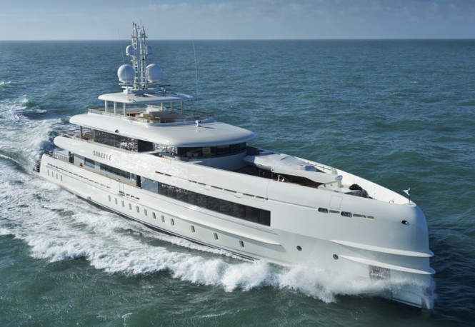 Super yacht Sibelle - Photo by Richard Visions and Heesen Yachts